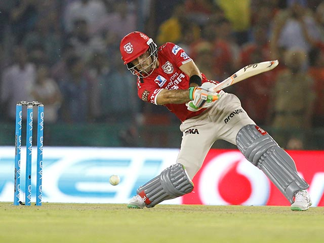 Glenn Maxwell Cameo Helps KXIP To Important Win Over MS Dhoni