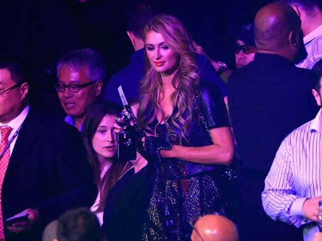 Mayweather vs Pacquiao Mega-Fight: Drew Barrymore, Paris Hilton Lead Celeb-Fest