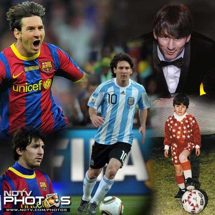 Lionel Messi's life in pics