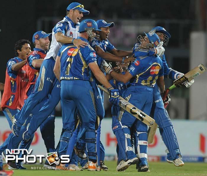 IPL 5: Mumbai defeat Deccan in a thriller