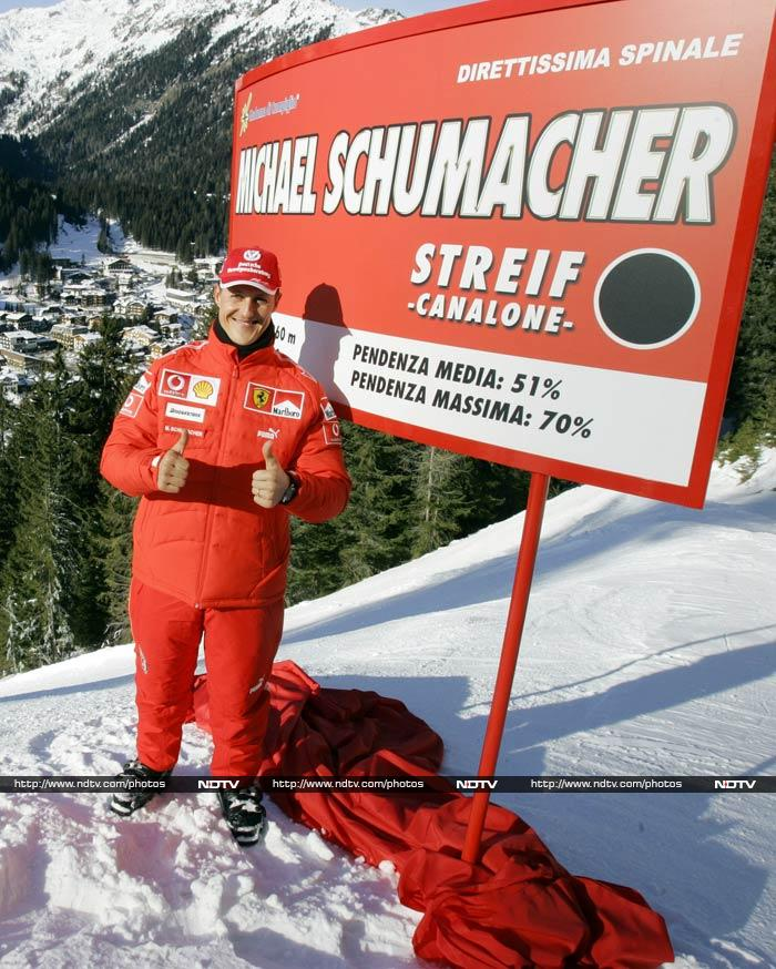 Michael Schumacher: The true speed king