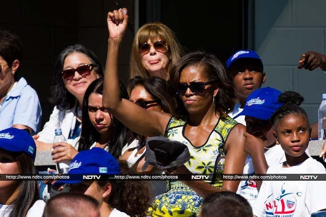 US Open: Michelle Obamas rendezvous with tennis