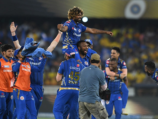 Mumbai Indians beat Chennai Super Kings to lift fourth IPL title