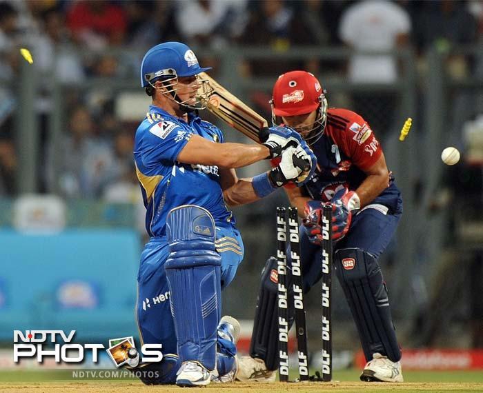 IPL 5: Delhi ease past Mumbai by 7 wickets