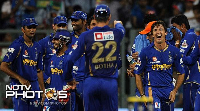 IPL 5: Pollard powers Mumbai past Rajasthan