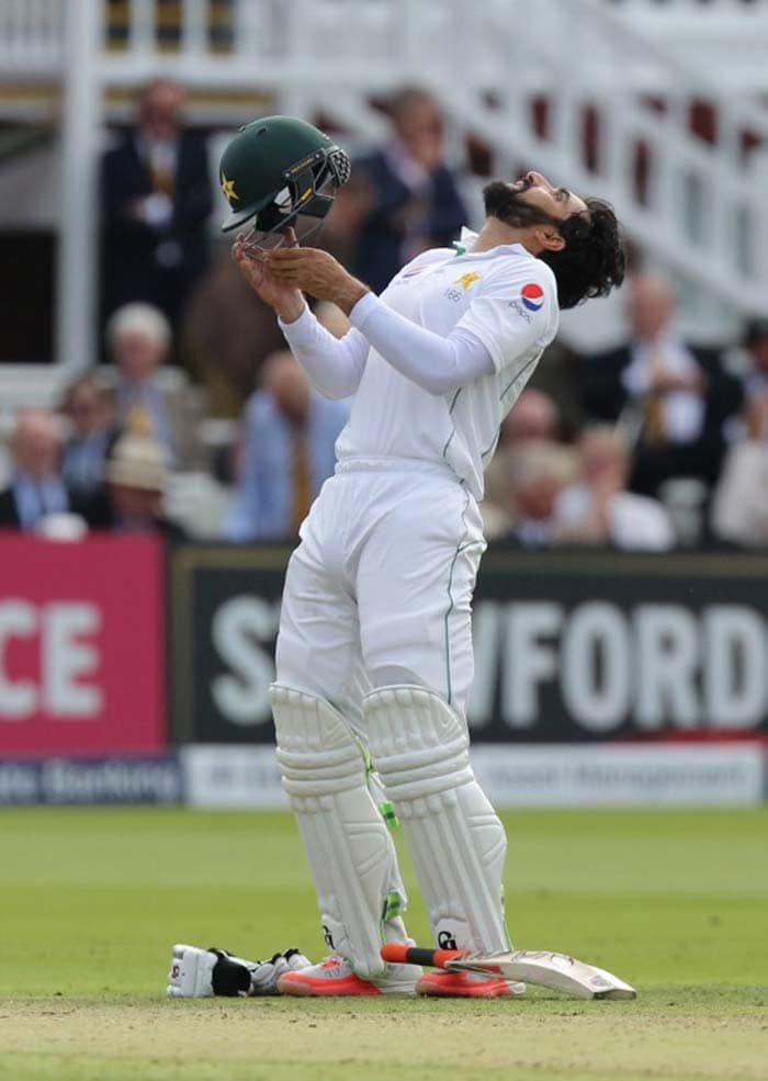 Misbah-ul-Haq - Sixth Oldest to Score Test Century