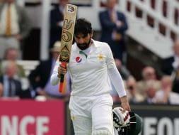Photo : Misbah-ul-Haq - Sixth Oldest to Score Test Century