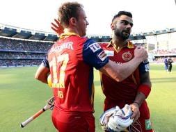 Photo : AB de Villiers, Virat Kohli Power RCB to Crushing Win Over MI