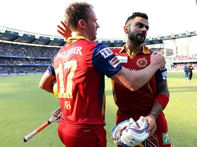 AB de Villiers, Virat Kohli Power RCB to Crushing Win Over MI