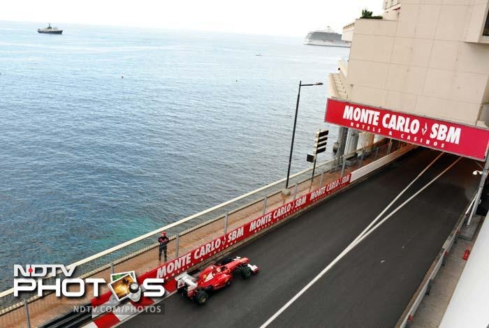 Monaco Grand Prix: Qualifying session
