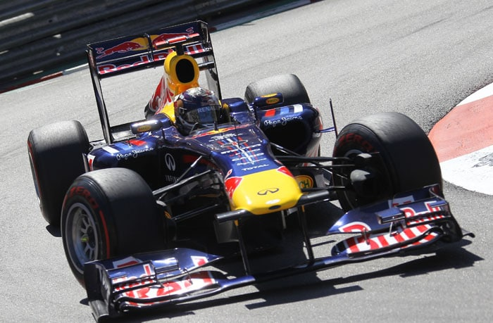 Vettel takes pole for Monaco GP