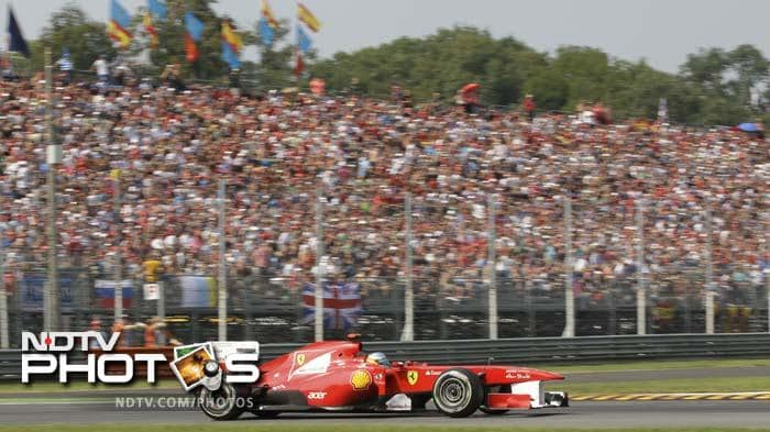Vettel claims 10th pole of season at Monza