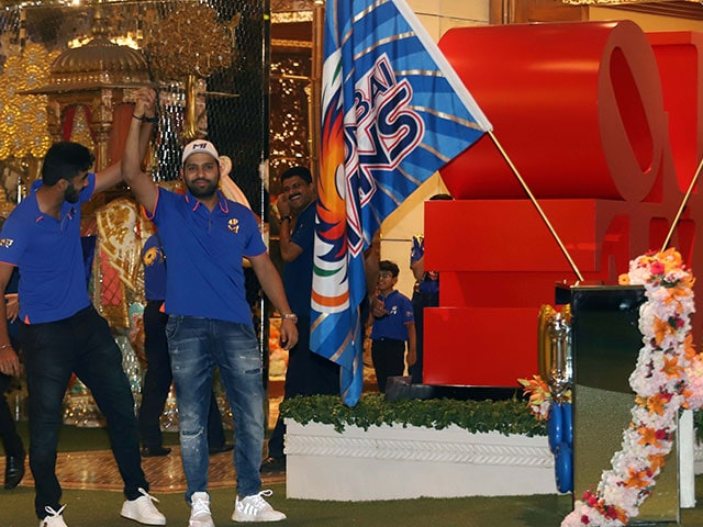 Rohit Sharma Leads Mumbai Indians