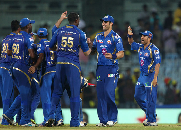 Mumbai beat Chennai by 9 runs to record first win