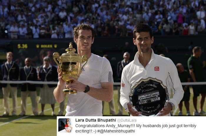 Twitter hit by Murray mania after Wimbledon glory