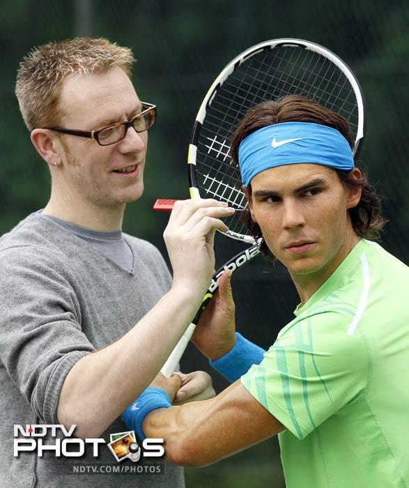 Rafael Nadal gets waxed at Madame Tussauds
