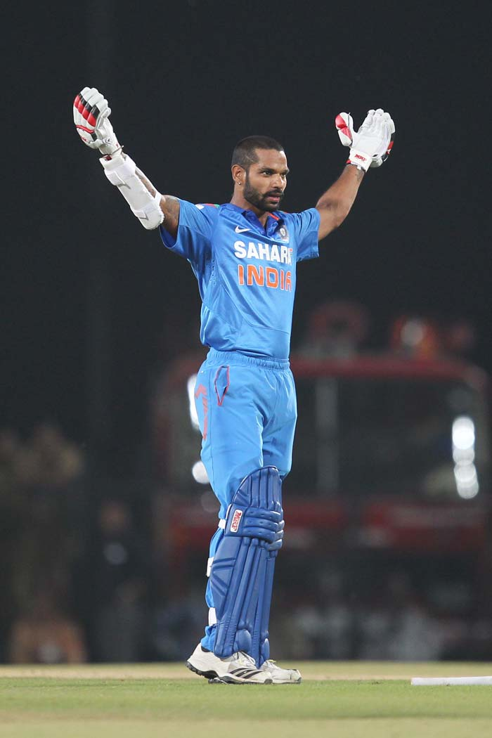 Kohli, Dhawan's centuries help India draw level series 2-2