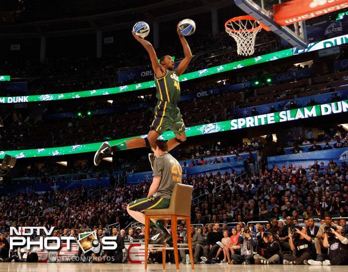 NBAs high-flying Slam Dunk Contest