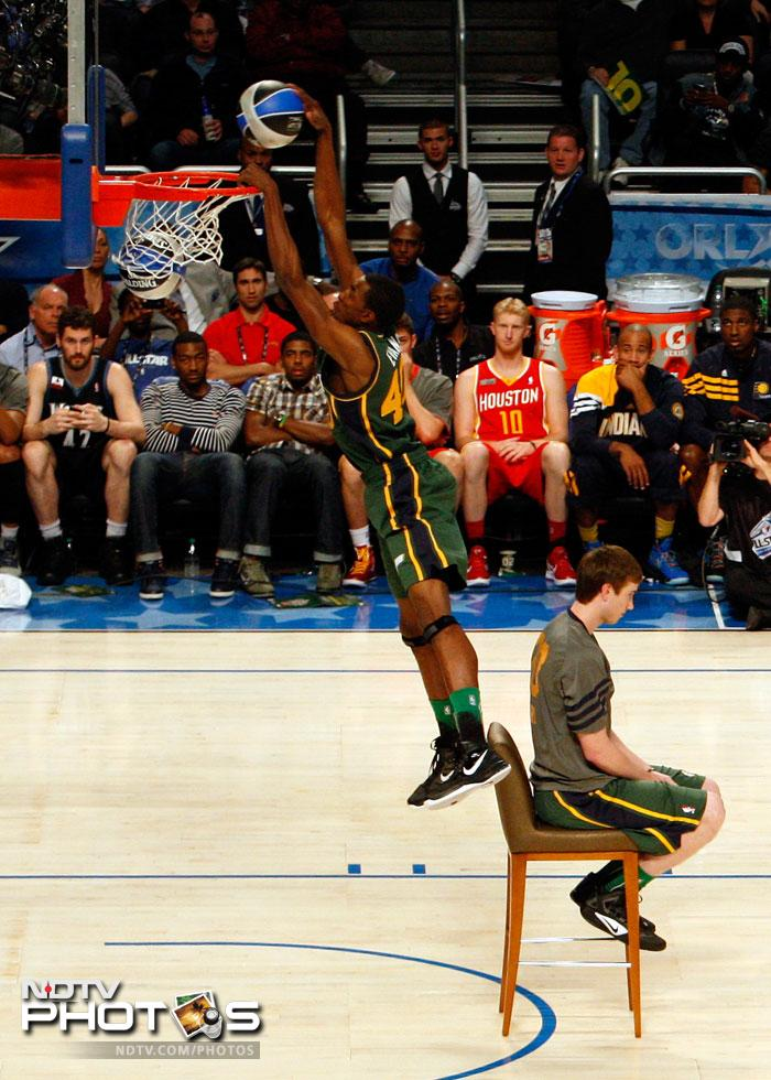NBA's high-flying Slam Dunk Contest
