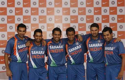 New jersey for Team India