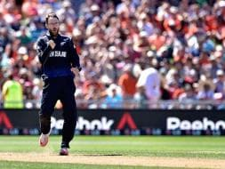 Photo : World Cup: Vettori Joins 300 Club, New Zealand Crush Afghanistan