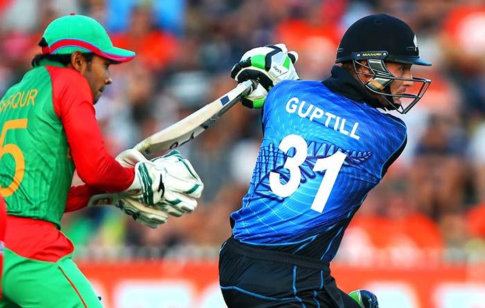 New Zealand Beat Bangladesh in Nervy World Cup Battle