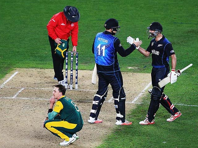 New Zealand Defeat South Africa in Thriller, Enter World Cup Final