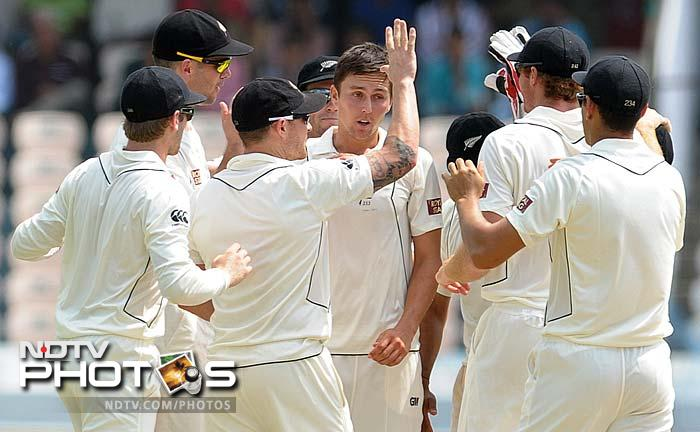 1st Test, Day 1: India vs New Zealand