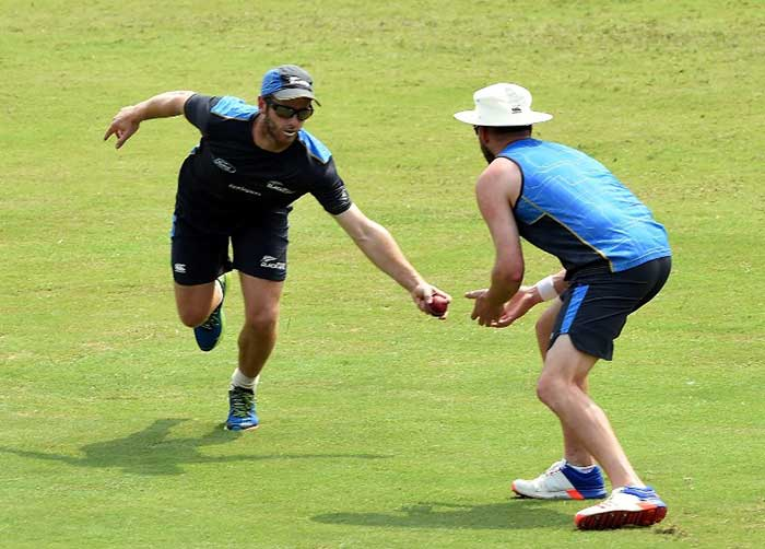 New Zealand Team Warm-Up Ahead Of First Test
