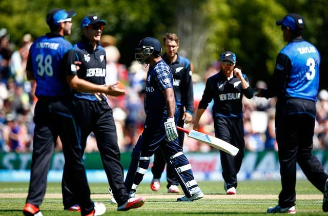 World Cup: New Zealand Overcome Nervous Moment to Beat Scotland