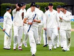 New Zealand thrash West Indies in second Test