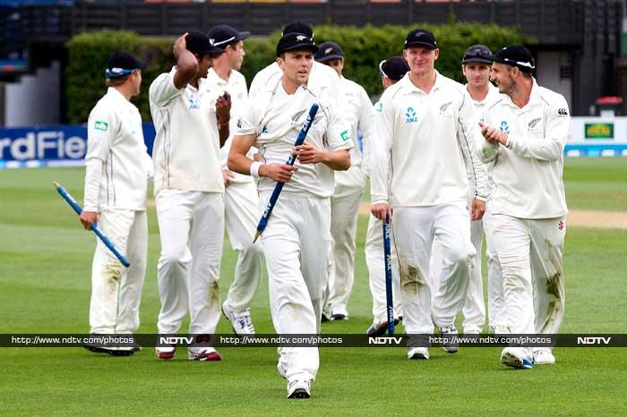 New Zealand thrash West Indies in second Test