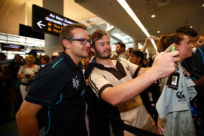 Fans, Family and Selfies: New Zealand