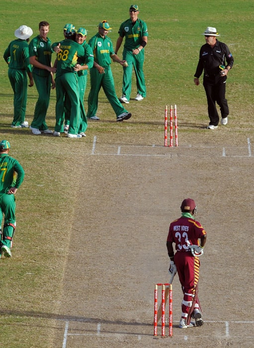 2nd ODI: WI vs SA