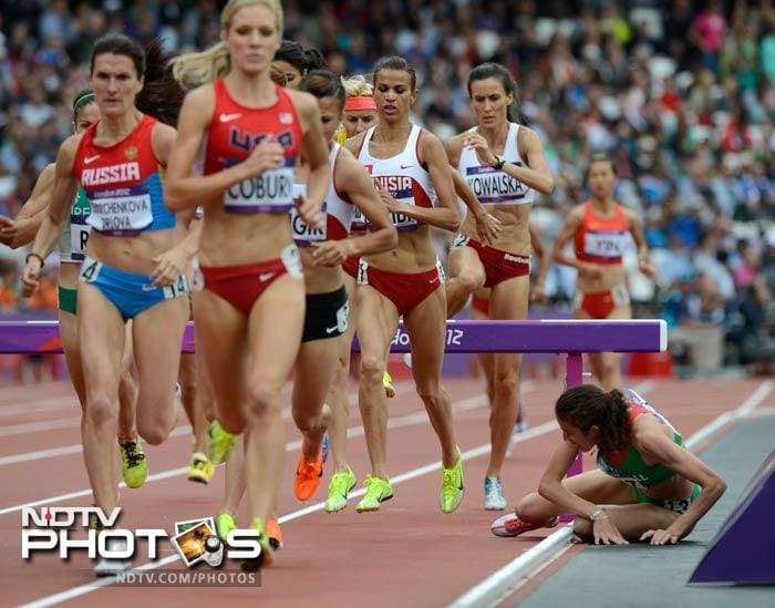 london olympics 2012: some oops moments! | photo gallery