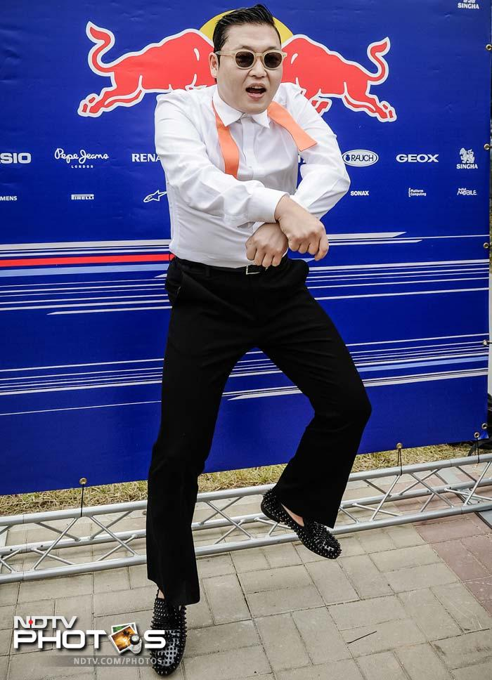 How it opened Gangnam style at the Korean GP