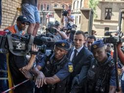 Photo : Oscar Pistorius Sent to Prison for Five Years