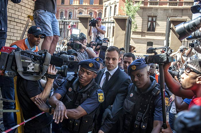 Oscar Pistorius Sent to Prison for Five Years
