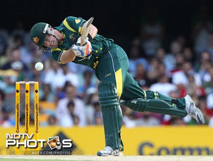 Oz thrash India by 110 runs to win bonus point