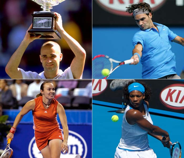 A tribute to Australian Open legends