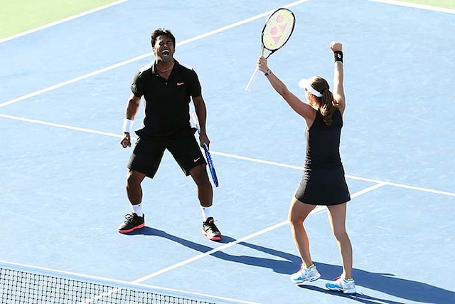 Leander Paes, Martina Hingis Win US Open Mixed Doubles Title