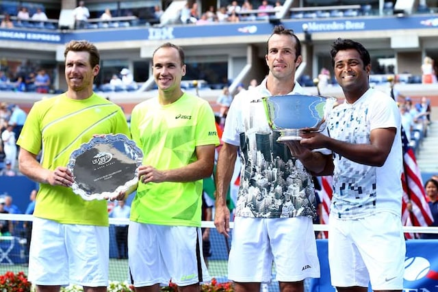 Ageless Leander Paes, Radek Stepanek win US Open title