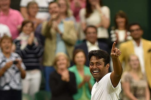 Leander Paes, Martina Hingis Win Wimbledon Mixed Doubles Title