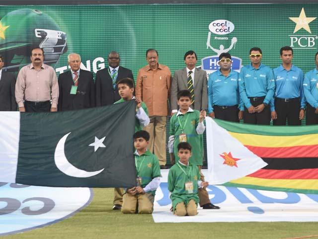 Photo : Pakistan Welcome Cricket, Win T20I vs Zimbabwe