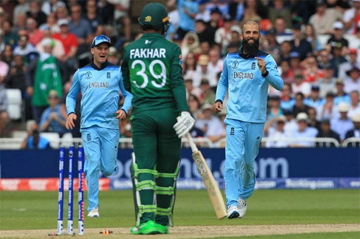 Pakistan stun favourites England by 14 runs