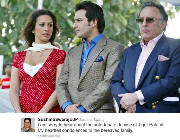 On Twitter, Pataudi remembered with love and pride