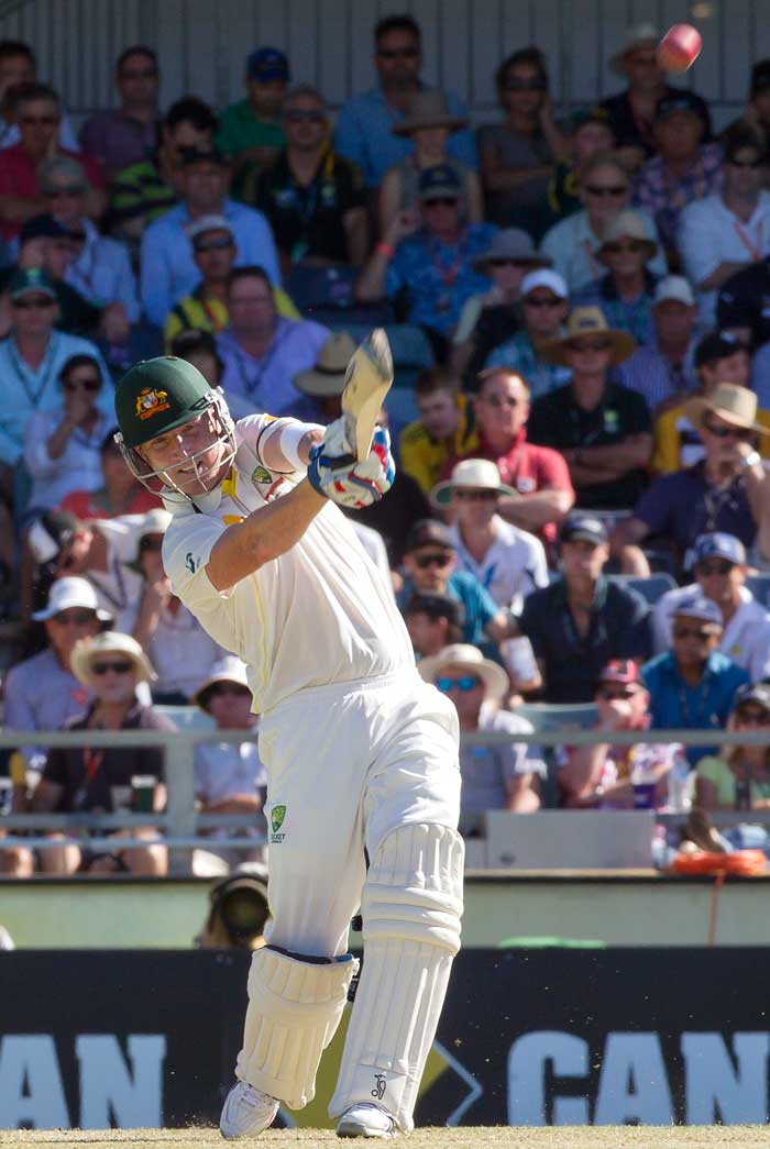 The Ashes: Steve Smith ton rescues Australia on Day 1 of Perth Test