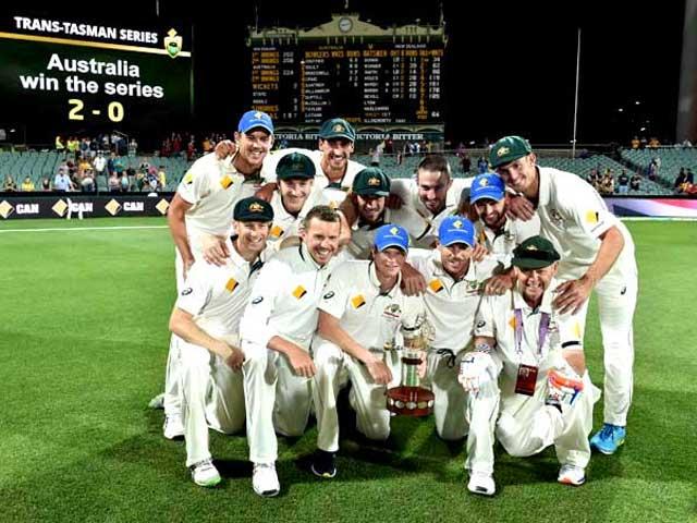 Pink Ball Test: Australia Edge Past New Zealand