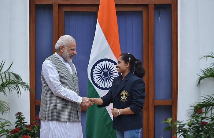 PM Narendra Modi Hosts Sports Awardees