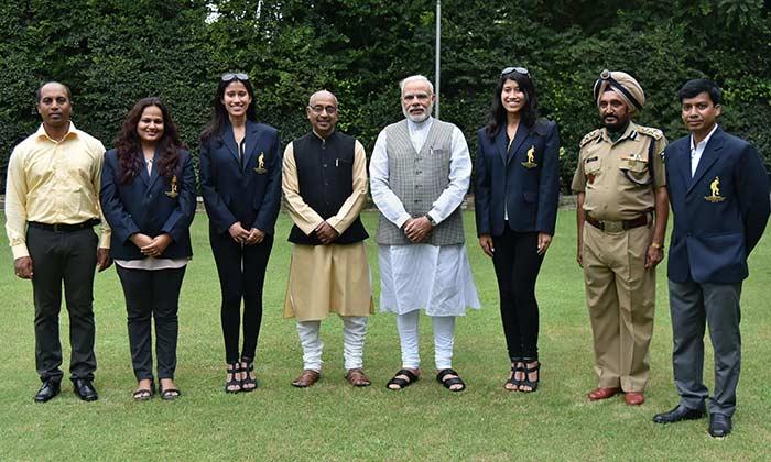 पीएम मोदी ने की राष्ट्रीय खेल पुरस्कार विजेताओं की मेजबानी